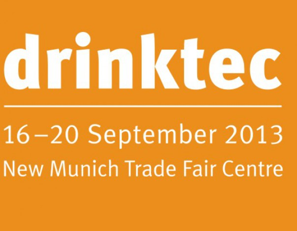 Belina on fair Drinktec 2013 Munich